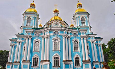 Catedrala Sfantul Nicolae din Sankt Petersburg