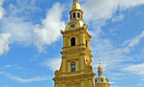 Catedrala Sfintii Petru si Pavel din Sankt Petersburg