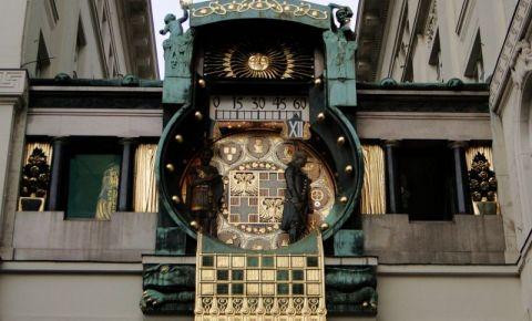Ceasul Anker din Viena