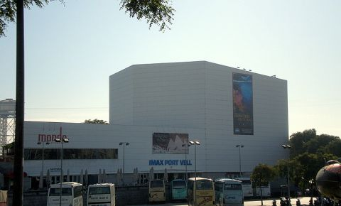 Cinematograful IMAX din Barcelona