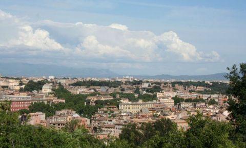 Colina Gianicolo din Roma