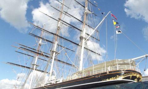 Corabia Cutty Sark din Londra
