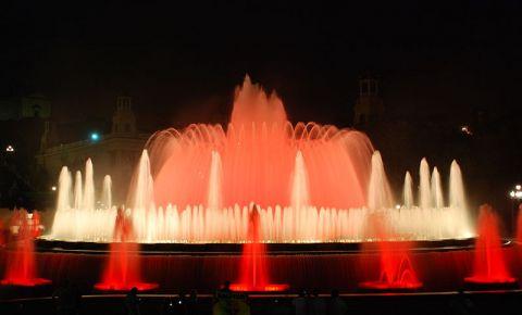 Fantanile Magice din Barcelona