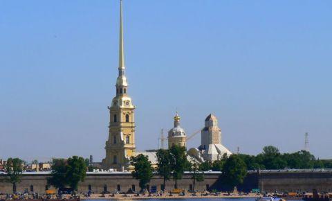 Fortareata Sfintii Petru si Pavel din Sankt Petersburg