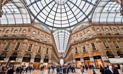 Galeria Vittorio Emanuele II din Milano