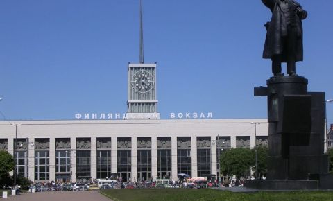 Gara Finlanda din Sankt Petersburg