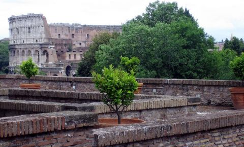 Gradinile Farnesiene din Roma
