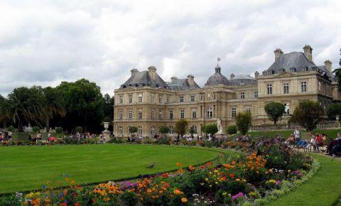 Gradinile Luxemburg din Paris