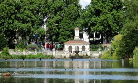 Gradinile Palatului Kensington din Londra