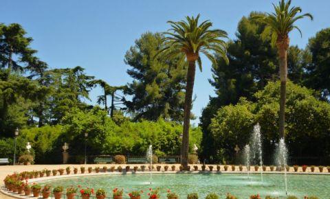 Gradinile Palatului Regal din Barcelona