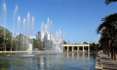 Gradinile Raului Turia din Valencia