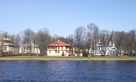 Insula Kamenny din Sankt Petersburg