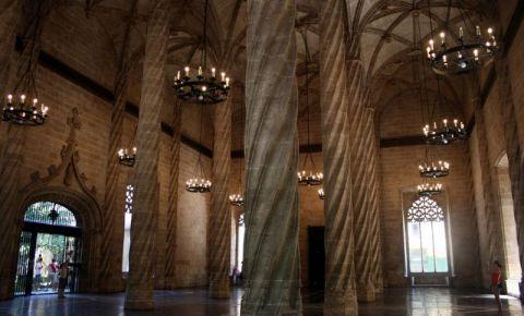 La Lonja de la Seda din Valencia