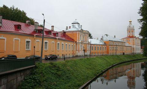 Manastirea Alexander Nevski din Sankt Petersburg