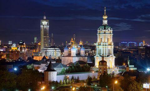 Manastirea Novospassky din Moscova