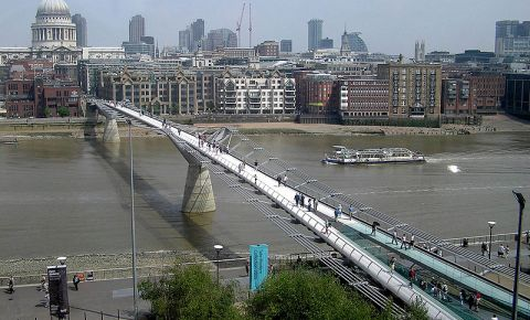 Millenium Bridge, London