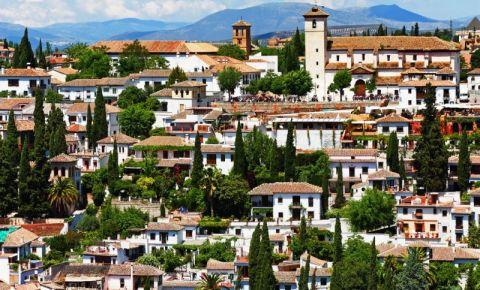 Mirador San Nicolas din Granada