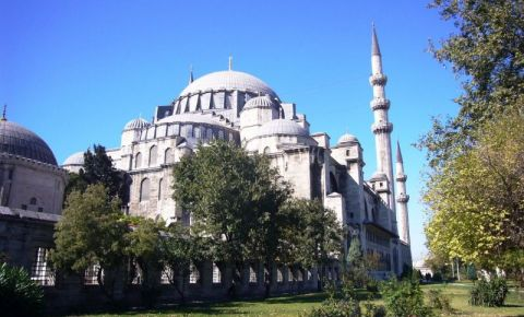 Moscheea Soliman Magnificul din Istanbul