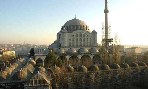 Moscheea Sultanului Mihrimah din Istanbul