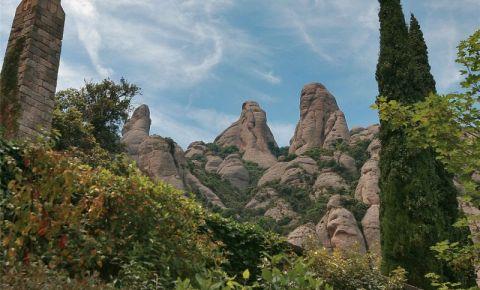 Muntele Montserrat din Barcelona