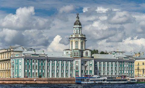 Muzeul de Etnografie si Antropologie din Sankt Petersburg
