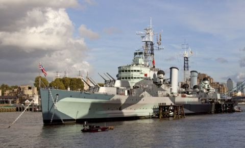 Nava de Razvoi HMS Belfast din Londra
