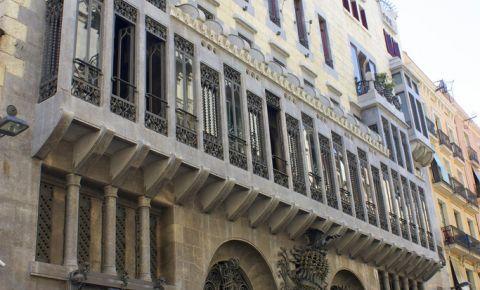 Palatul Guell din Barcelona