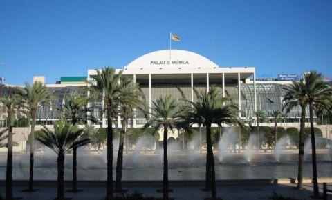 Palatul Muzicii din Valencia