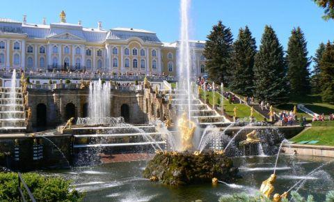 Palatul Peterhof din Sankt Petersburg