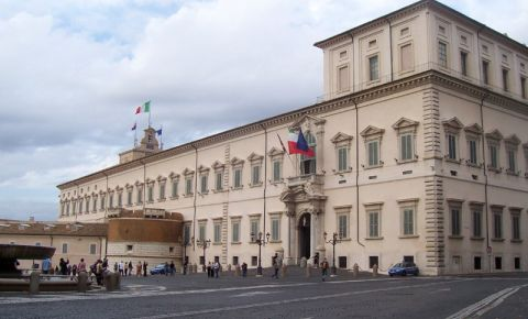 Palatul Quirinal din Roma