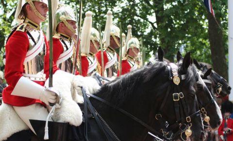 Parada Garzilor Calare din Londra