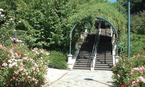 Parcul Belleville din Paris
