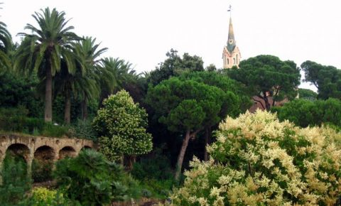Parcul Guell din Barcelona
