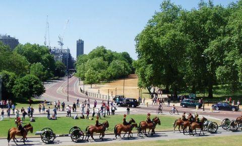 Parcul Hyde Park din Londra