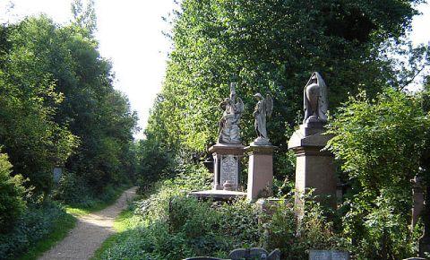 Parcul si Cimitirul Abney din Londra