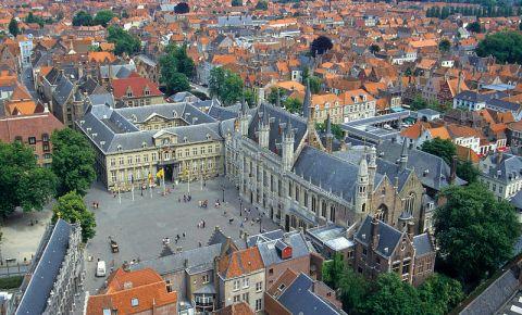 Piata Burg din Bruges