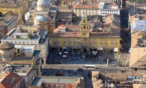 Piata Garibaldi din Parma