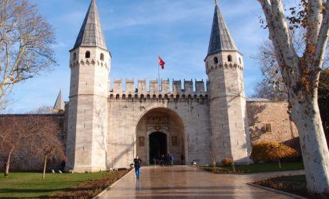 Poarta Salutului, Palatul Topkapi