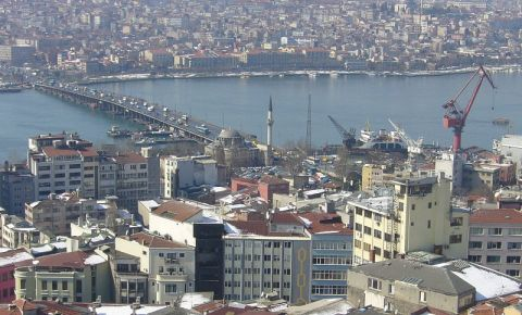 Podul Ataturk din Istanbul