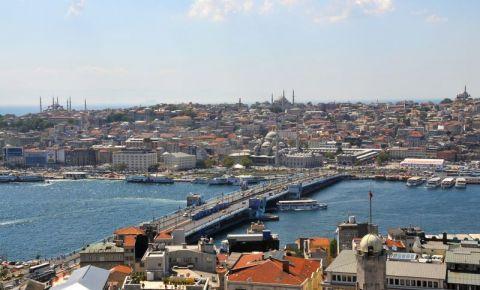 Podul Galata din Istanbul