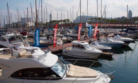 Portul de Yachturi din Barcelona