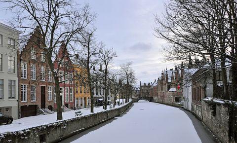 Reteaua de Canale Steenhouwersdijk si Groenerei din Bruges