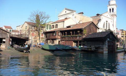 Santierul Naval San Trovaso din Venetia