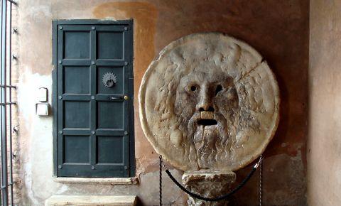 Sculptura Bocca della Verita din Roma
