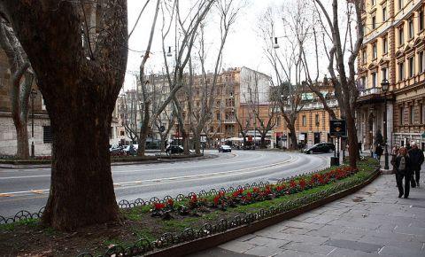 Strada Via Veneto din Roma