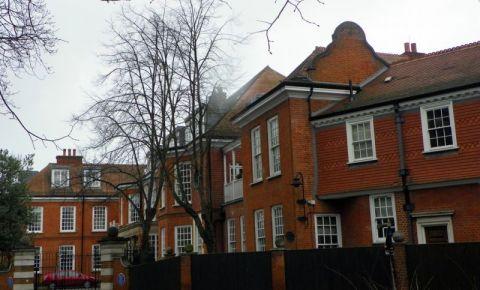 Suburbia Hampstead din Londra