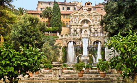 Vila d`Este din Roma