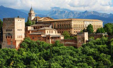 Palatul lui Carlos al V-lea din Granada