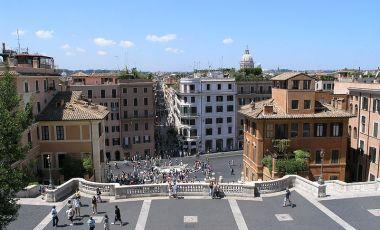Piata Spaniei din Roma