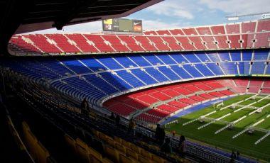 Stadionul Camp Nou din Barcelona